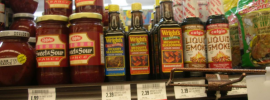 liquid smoke in the grocery store?