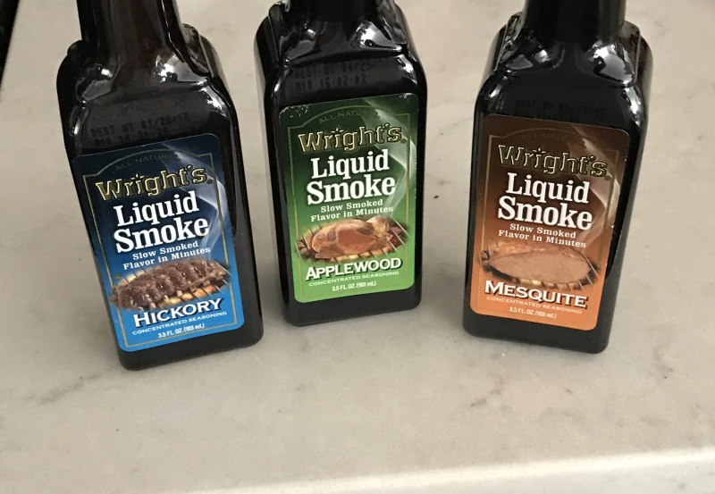 liquid smoke in the grocery store