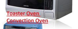 Toaster Oven and Convection Oven